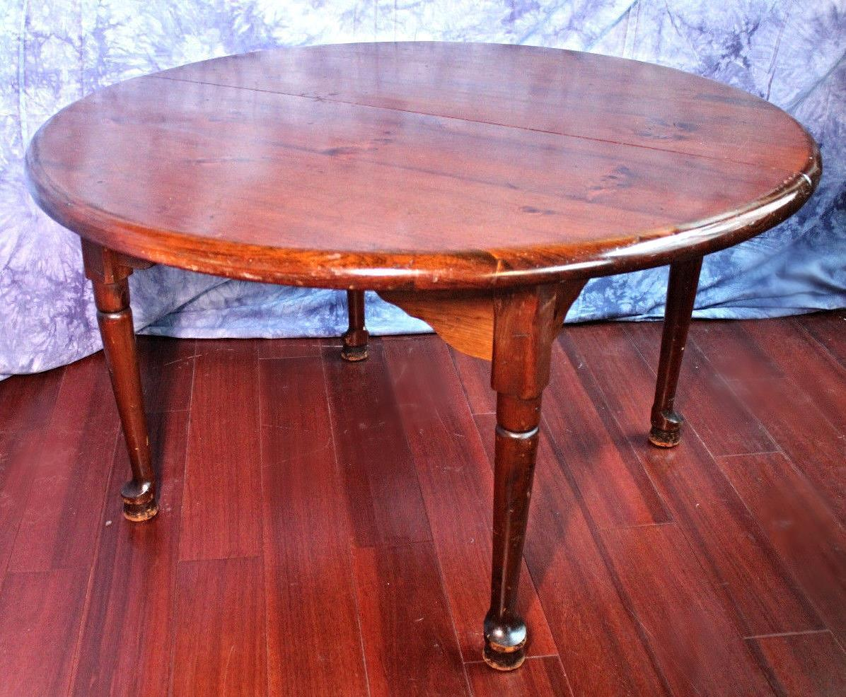 Antique Queen Anne Style Round Extension Dining Table  : antique queen anne style round extension dining table 5549aspectfitampwidth640ampheight640 from www.chairish.com size 640 x 640 jpeg 60kB