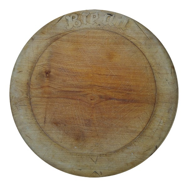 Edwardian Sycamore Bread Board - Image 1 of 5