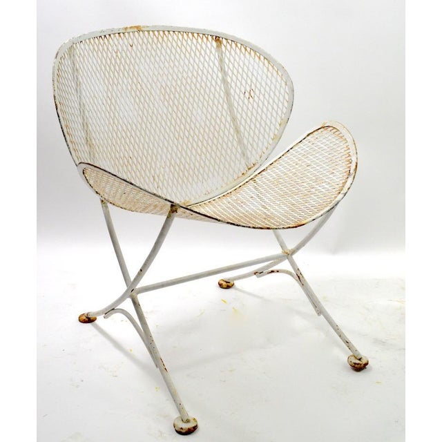 Mid-Century Modern Pair of Tempestini for Salterini Clamshell Lounge Chairs For Sale - Image 3 of 9