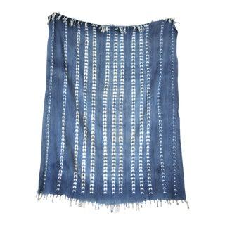 Vintage Indigo Throw Textile