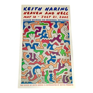 Vintage Keith Haring Exhibit Card