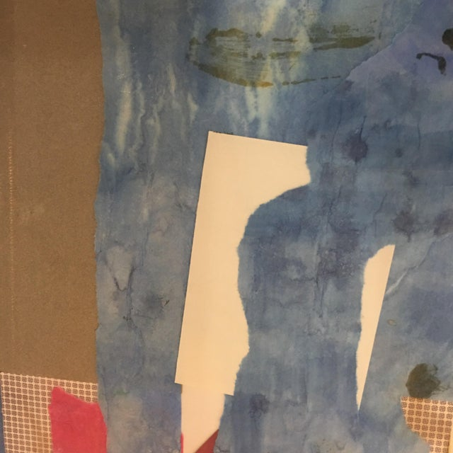 Mitzi Levin Abstract Collage, 1983 - Image 9 of 10