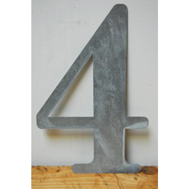 Metal Numbers - Set of 10 For Sale In San Francisco - Image 6 of 11