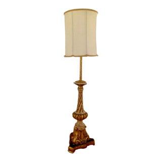 Nardini Studios Stunning Neoclassical Style Table Floor Lamp For Sale