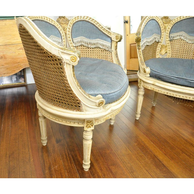 Mid 20th Century 20th Century French Petal Chairs - a Pair For Sale - Image 5 of 13