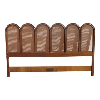 Drexel French Provincial Cane King Headboard