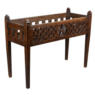 19th Century French Planter Box For Sale