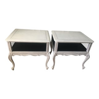 French Provincial End Tables - a Pair For Sale