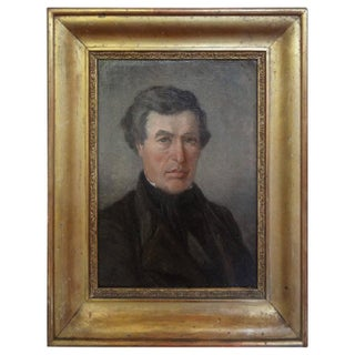 Early 19th Century French Empire Portrait Painting For Sale