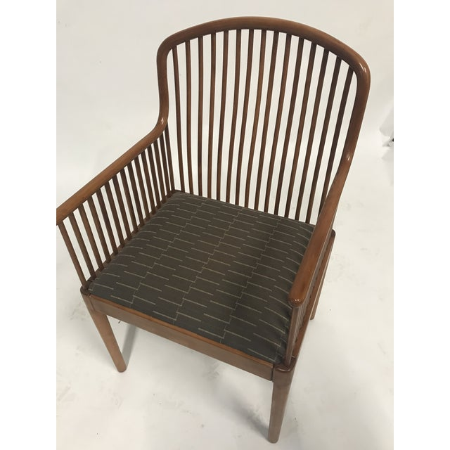 """Stunning Davis Allen for Knoll """"Exeter"""" Spindle Dining or Office Chairs - 40 Available For Sale - Image 11 of 11"""