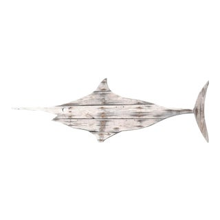 Driftwood Swordfish Hand Made by John Scarola For Sale