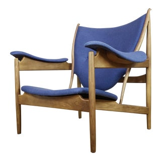 1990s Contemporary Scandinavian Finn Juhl Arne Chieftain Style Chair For Sale