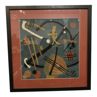 Mid-Century Modern Calder Style Fiber Art