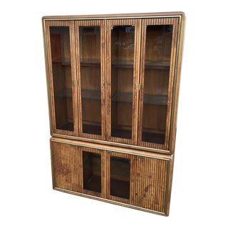 American of Martinsville Modern China Hutch