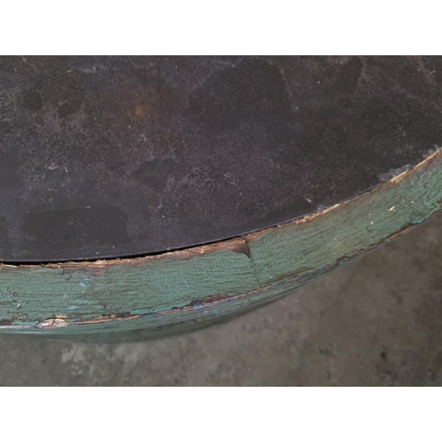 Transitional Classic Home Stone Top Coffee Table For Sale In Los Angeles - Image 6 of 7