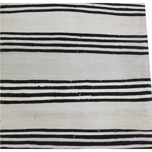 """Traditional Kilim Tribal Area Rug-2'7""""x11'1"""" For Sale In Dallas - Image 6 of 7"""