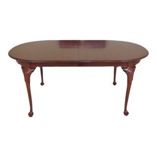 Henkel Harris Model #2205 Cherry Dining Room Table For Sale
