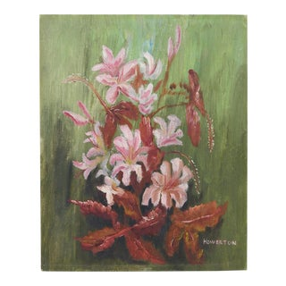 Howerton Impressionist Floral Painting