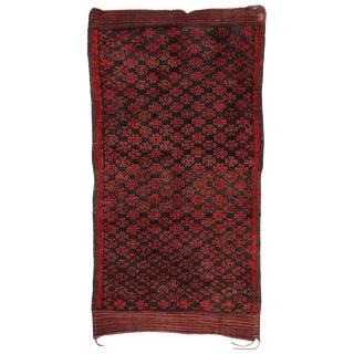Vintage Mid-Century Berber Moroccan Rug - 5′9″ × 11′ For Sale