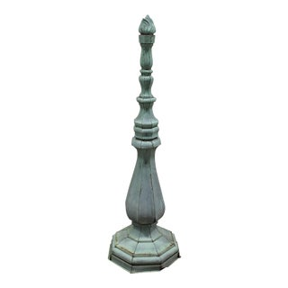 Tall Antique Copper Roof Finial For Sale