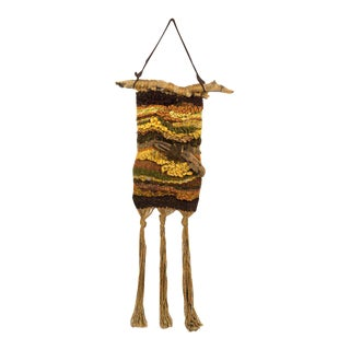 Macrame & Driftwood Wall Art For Sale
