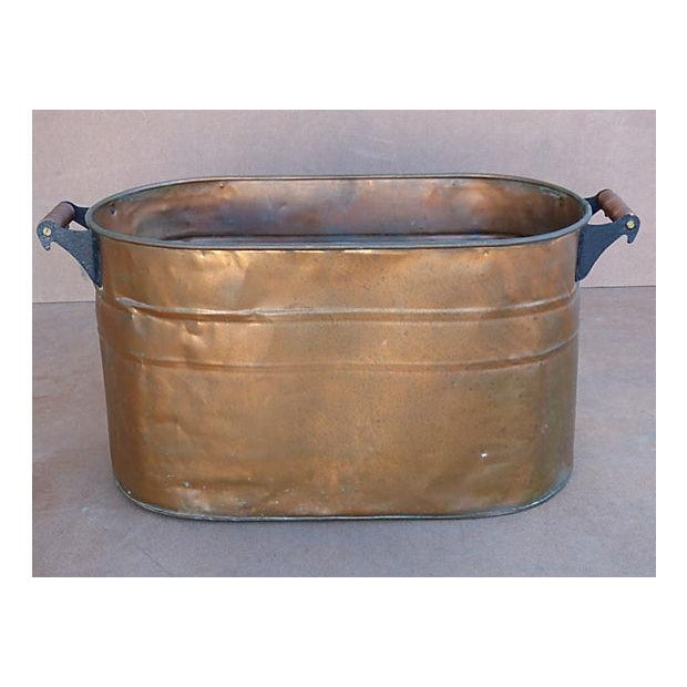 Antique Copper Bucket - Image 2 of 7