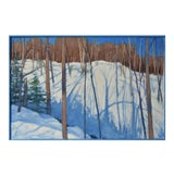 """Image of Stephen Remick """"Sunny Ridgeline"""" Contemporary Painting For Sale"""