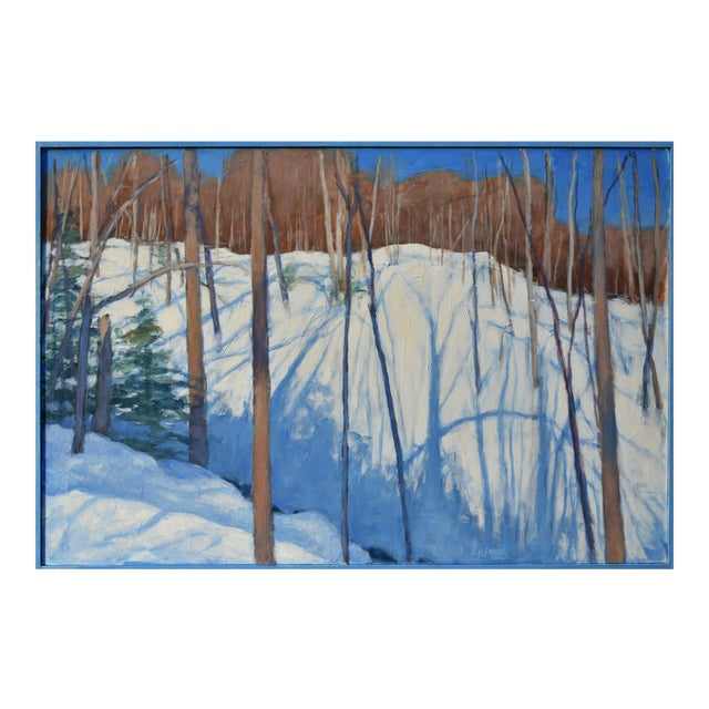 """Stephen Remick """"Sunny Ridgeline"""" Contemporary Painting For Sale"""