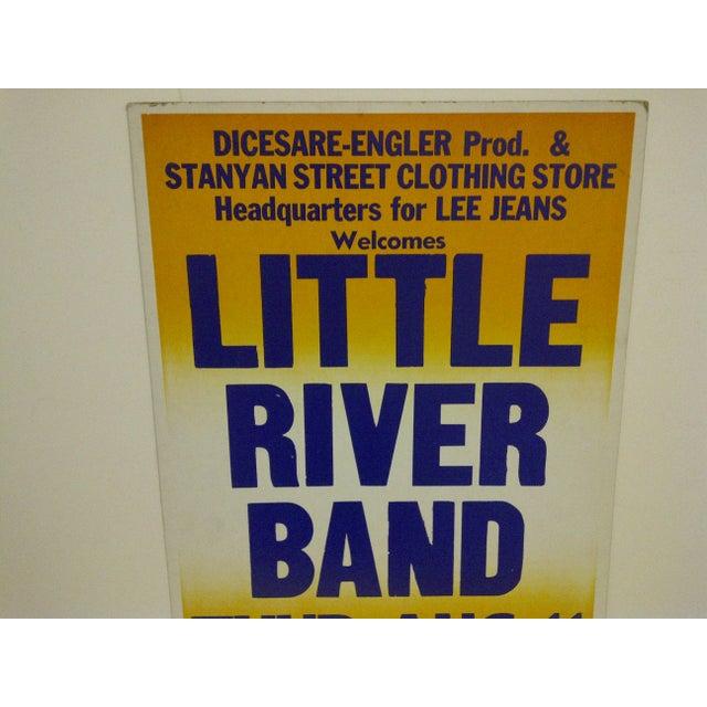 """""""Little River Band"""" Vintage Concert Poster For Sale - Image 4 of 6"""