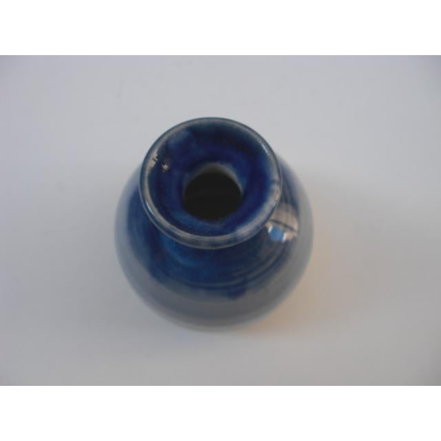 Cobalt Blue Gradient Studio Pottery - Image 5 of 5