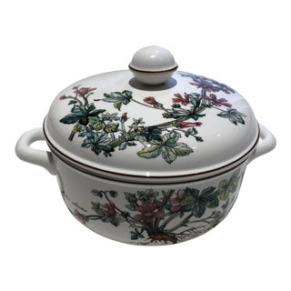 Villeroy & Boch Botanica Round Covered Vegetable Bowl For Sale