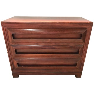 Paul Frankl Petite Mahogany Chest of Drawers for Johnson Furniture Co. For Sale