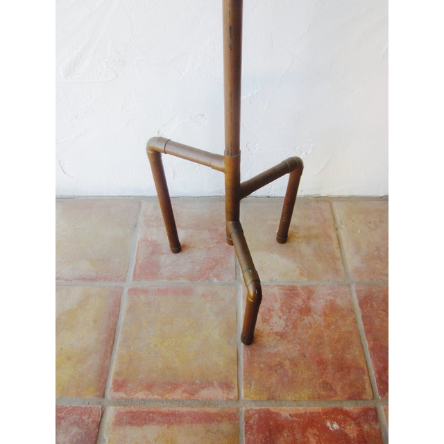 Modernist Copper Coat Rack Hat Tree - Image 7 of 11