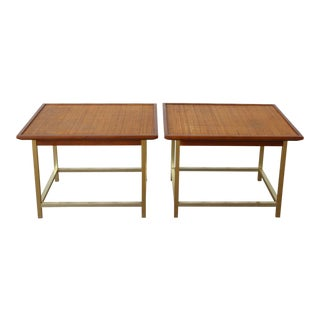 "Drexel ""Sun Coast"" Mid Century End Tables - a Pair For Sale"