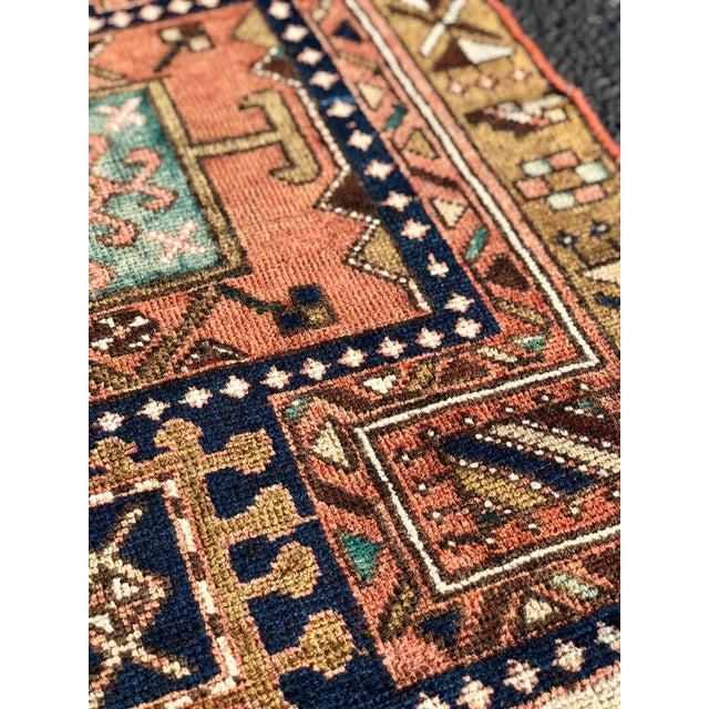 "Vintage Persian Karajeh Runner Rug - 2'8""x9'7"" For Sale - Image 9 of 13"