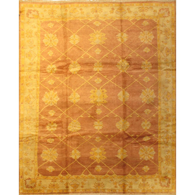 Pasargad N Y Indo Oushak Hand-Knotted Rug - 10' X 12' For Sale