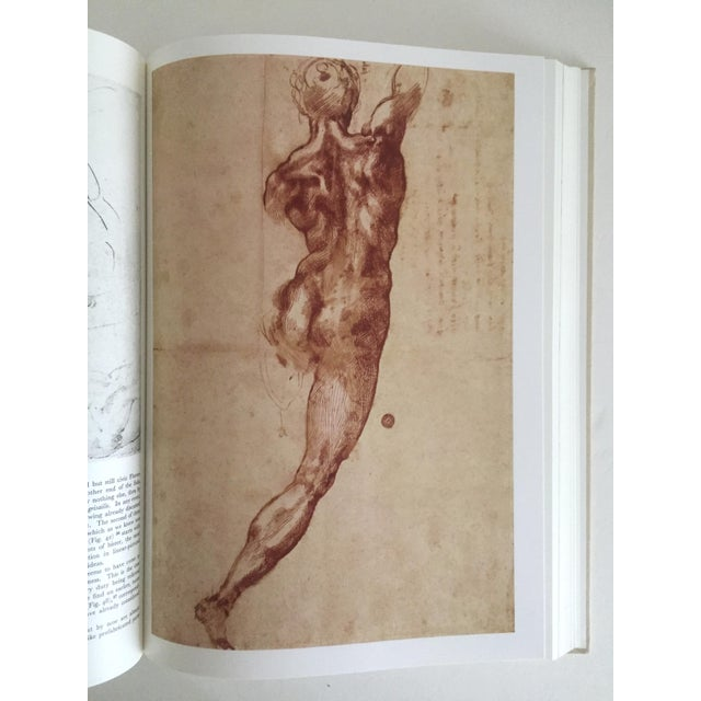 """""""The Complete Work of Michelangelo """" Slip Case Box Monumental Xtra Large Collector Vintage 1965 1st Edtn Book For Sale - Image 10 of 11"""