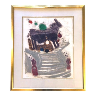 Theo Tobiasse Signed Numbered Gravure Lithograph For Sale