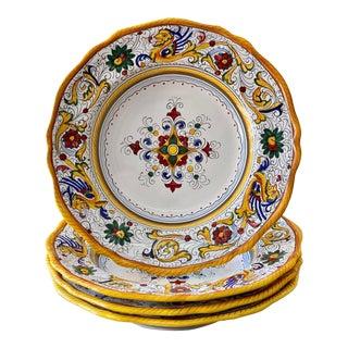 Raffaellesco Pasta/Soup Bowl, Full Design -Set of 4 For Sale