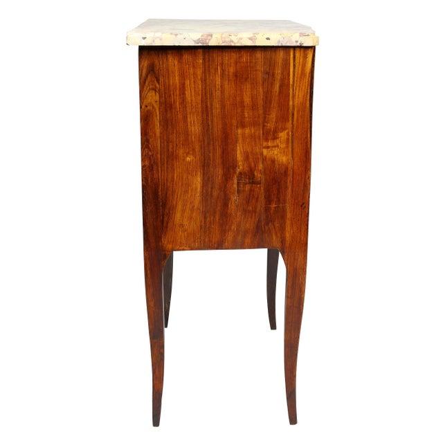 Wood Louis XVI Mahogany Petit Commode For Sale - Image 7 of 10