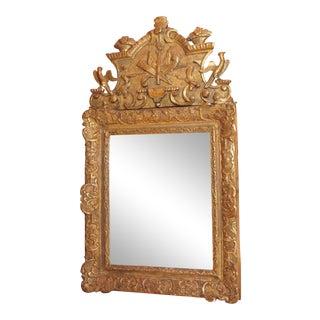 18th Century French Gilt Wood Mirror