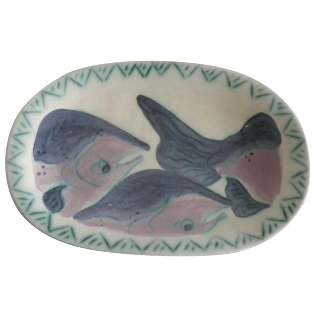 Artisan Salmon Platter by Toni Maury - Image 1 of 4