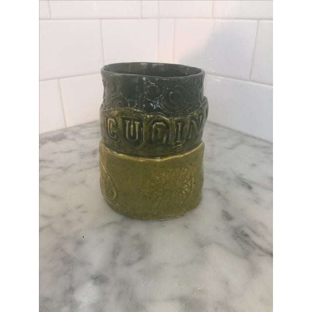 "Italian ""Cucina"" Mug Studio Pottery - Image 3 of 5"