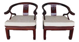 Image of Ming Slipper Chairs