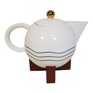 The Big Dripper Coffee/Tea Pot by Michael Graves for Swid Powell For Sale