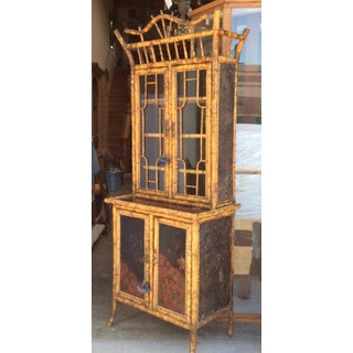 Antique Bamboo Cabinet Preview
