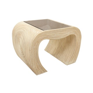 Ming Gabriella Crespi Pencil Bamboo End Tables - a Pair For Sale
