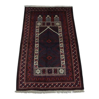 Afghan Tribal Hand Knotted Rug For Sale