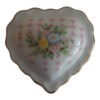 Porcelain Heart Shaped Box