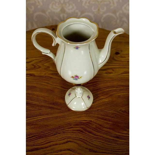 1918-1948 Karlskrona Porcelain Coffee Service for 6 - Set of 15 For Sale - Image 12 of 13